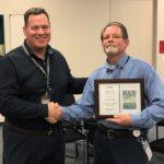 John Donnelly awarded PSE&G Frank LaBianco Award